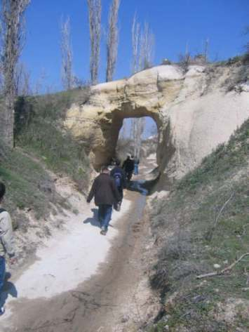 Walking track - Rose Valley Cappadocia